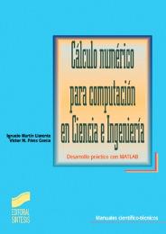 Cálculo numérico para computación en ciencia e ingeniería
