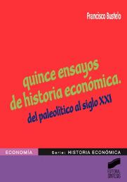 Quince ensayos de historia económica