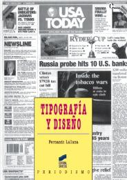 Tipografía y diseño