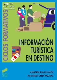 Informacion turistica en destino libro 683 hosteleria y for Tecnicas gastronomicas pdf