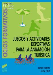 Juegos y actividades deportivas para la animaci�n