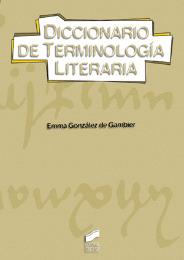 Diccionario de terminología literaria