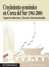 Crecimiento económico en Corea del Sur (1961-2000). Aspectos internos y factores internacionales