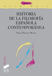 Historia de la Filosofía española contemporánea