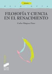 Filosofía y ciencia en el Renacimiento