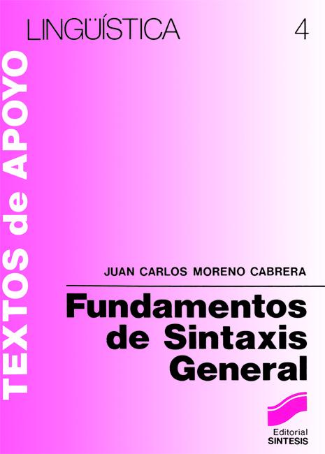 Fundamentos de sintaxis general