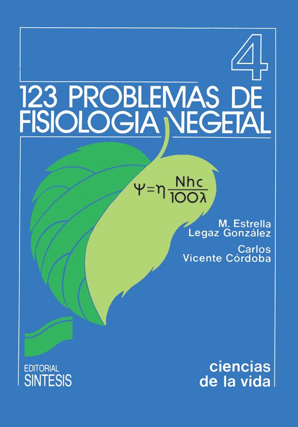 123 problemas de fisiología vegetal