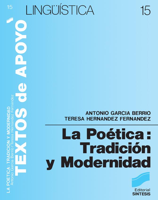 La poética: tradición y modernidad