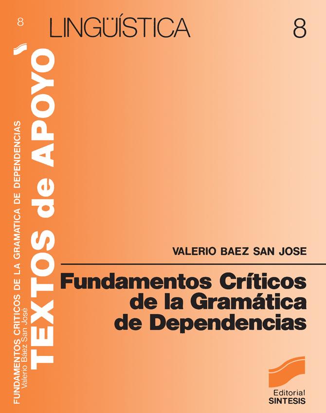 Fundamentos críticos de la gramática de dependencias