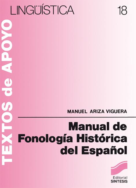 Manual de fonología histórica del español