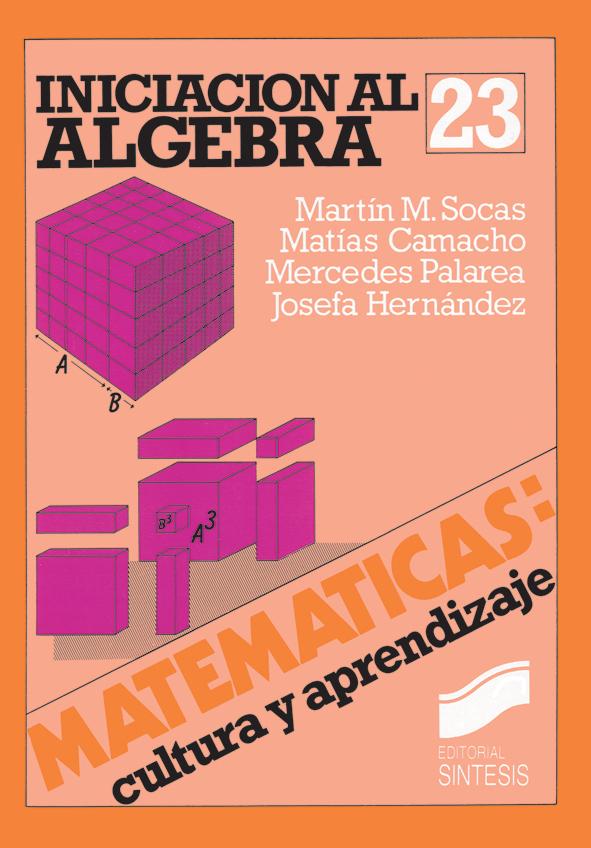 Iniciación al álgebra