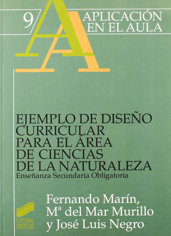 Ejemplo de diseño curricular para el área de ciencias de la naturaleza. ESO