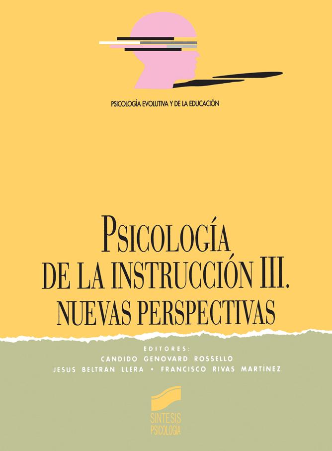 Psicología de la Instrucción III: nuevas direcciones