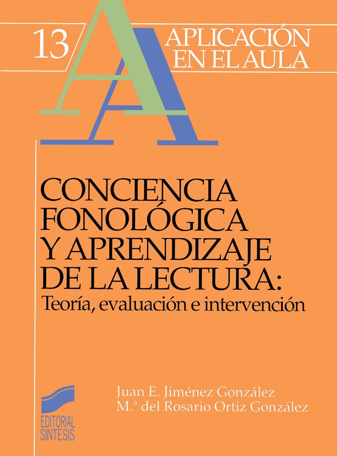 Conciencia fonológica y aprendizaje de la lectura.