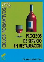 Procesos de servicio en Restauración