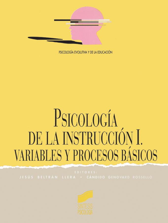 Psicología de la Instrucción I: variables fundamentales