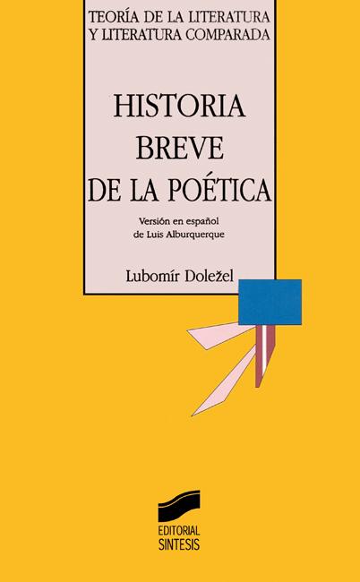 Historia breve de la poética