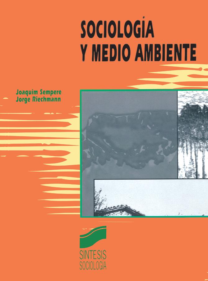 Sociolog�a y medio ambiente