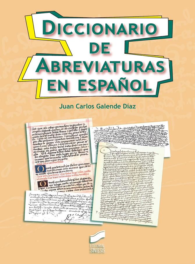 Diccionario de Abreviaturas en español
