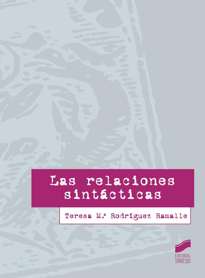Las relaciones sintácticas