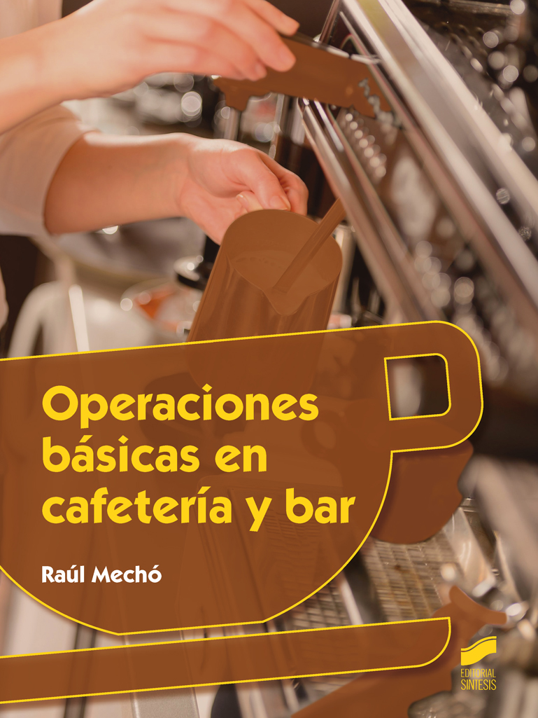 Operaciones básicas en cafetería y bar