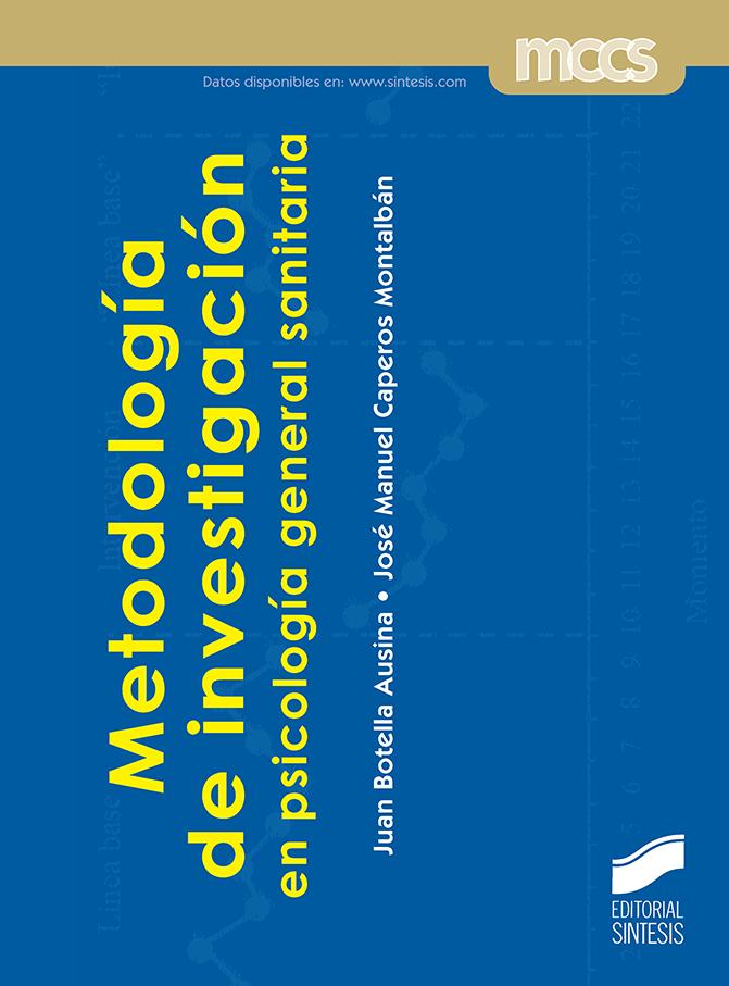 Metodología de investigación en psicología general sanitaria