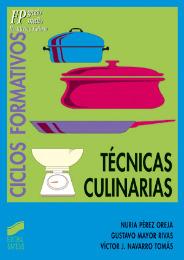 Técnicas culinarias