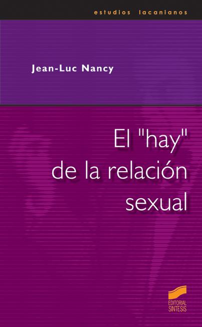 """El """"hay"""" de la relación sexual"""