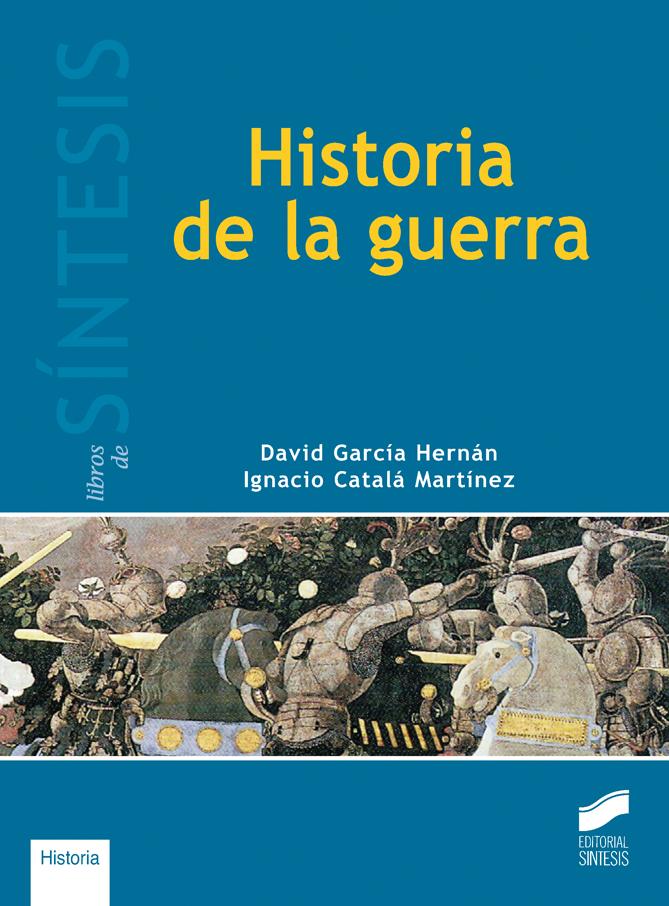 """Cubierta del libro """"Historia de la guerra"""""""