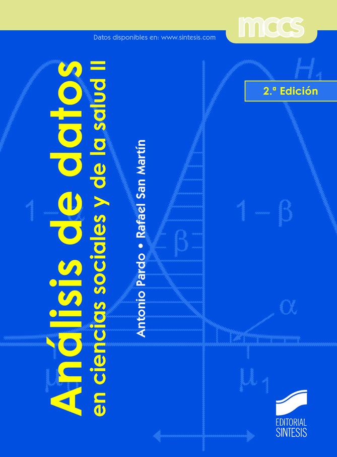 Análisis de datos en ciencias sociales y de la salud II (2.ª edición)