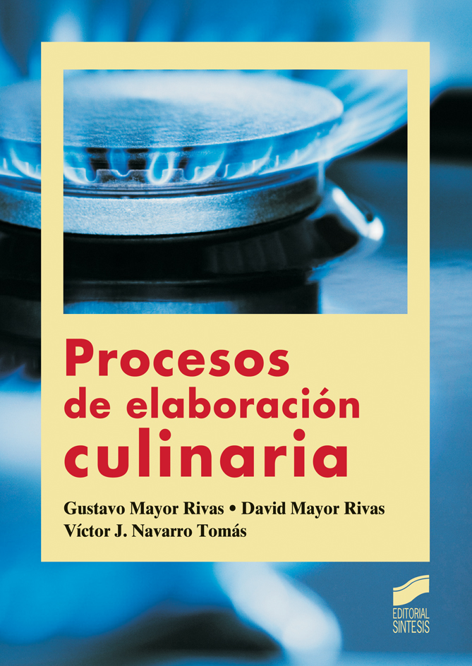 Procesos de elaboración culinaria