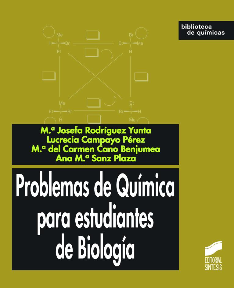 Problemas de Química para estudiantes de Biología