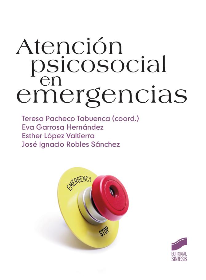 """Cubierta del libro """"Atención psicosocial en emergencias"""""""