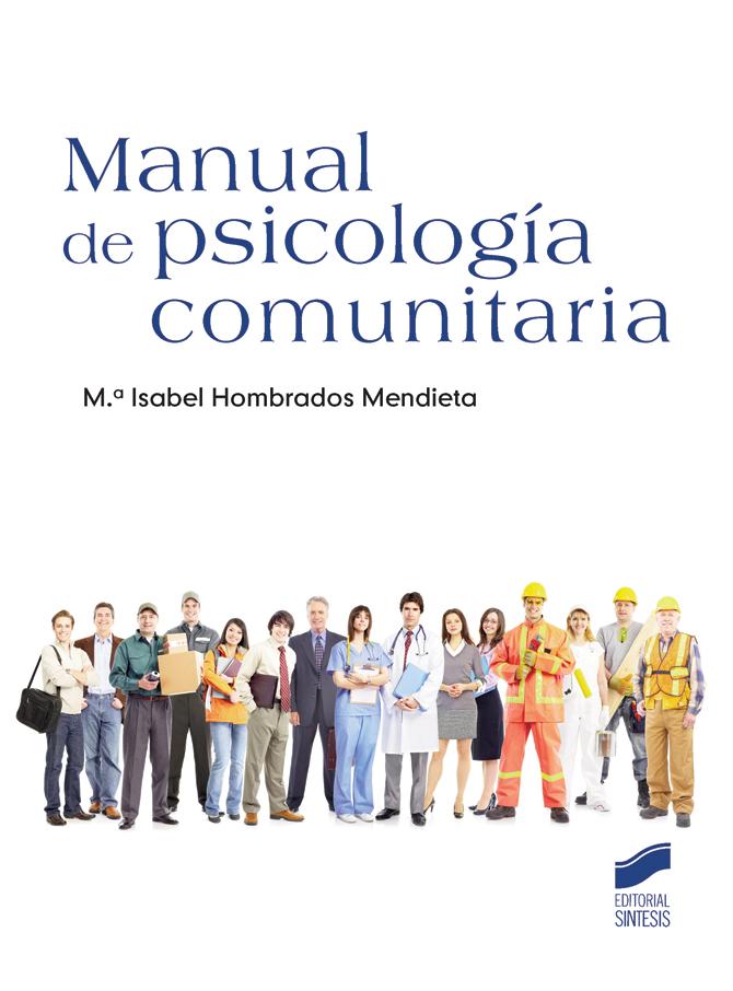 Manual de psicología comunitaria