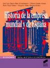 Historia de la empresa mundial y de España