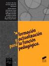 Formación y actualización para la función pedagógica