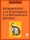 Introducción a la paleografía y la diplomática general