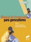 Manual de formación para gerocultores
