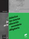 Didáctica de las ciencias en la educación secundaria obligatoria